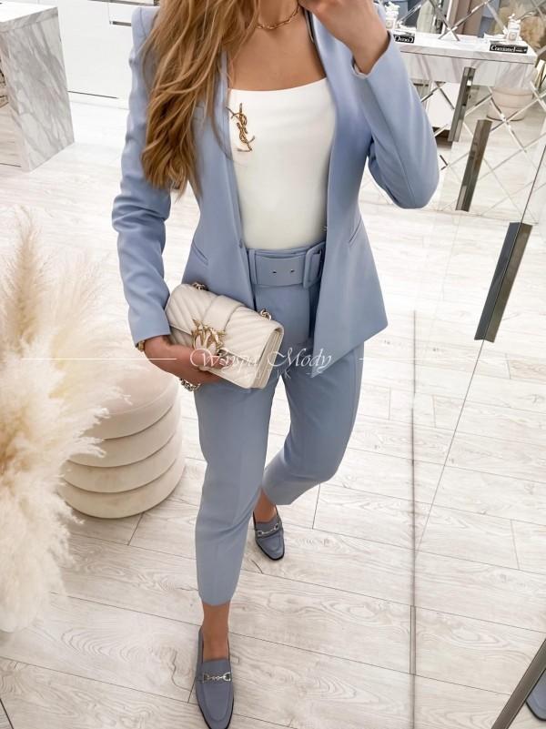 bluzka elegancka ysl white