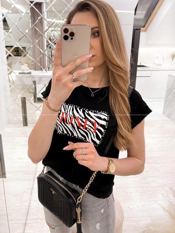 Tshirt Honey black
