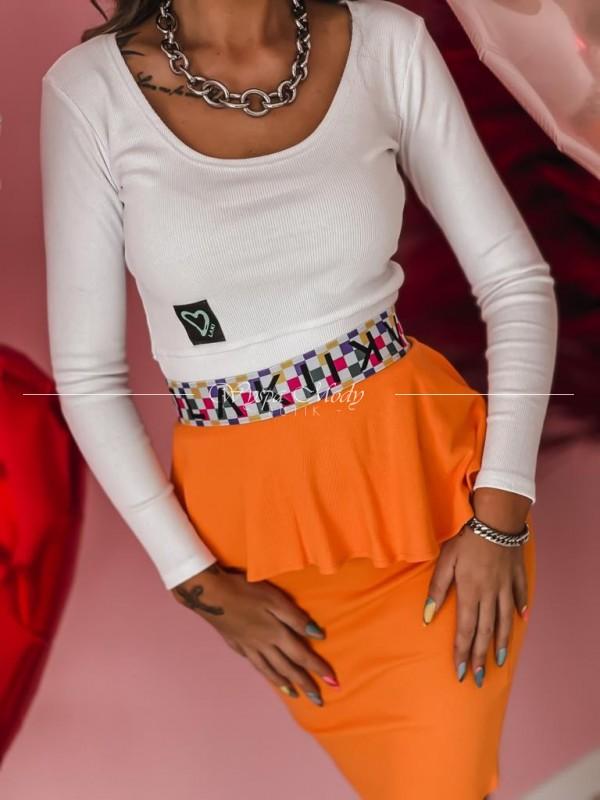 Spódnica Laki Orange