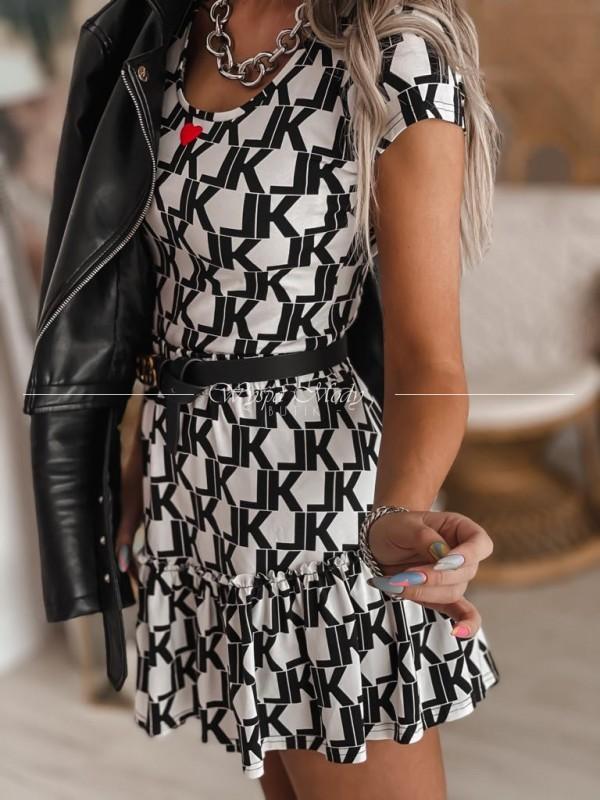 Spódnica Laki black&white