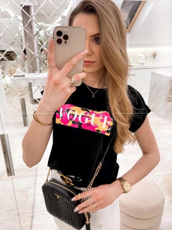 T shirt Vogue black