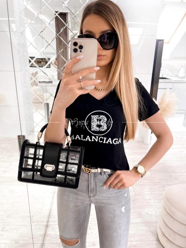 tshirt balanciaga black