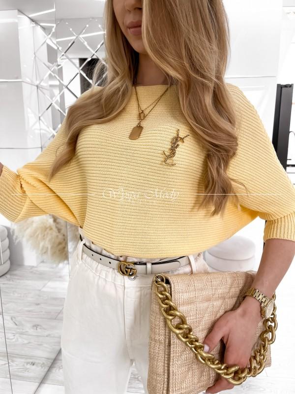 Sweterek Kiki Yellow