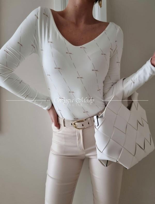 bluzka by me White