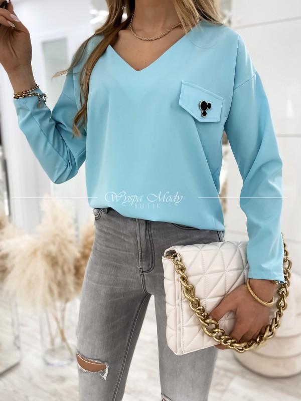 Bluzka Julliet Blue