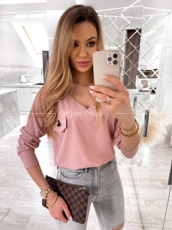 Bluzka Julliet Dirty Pink