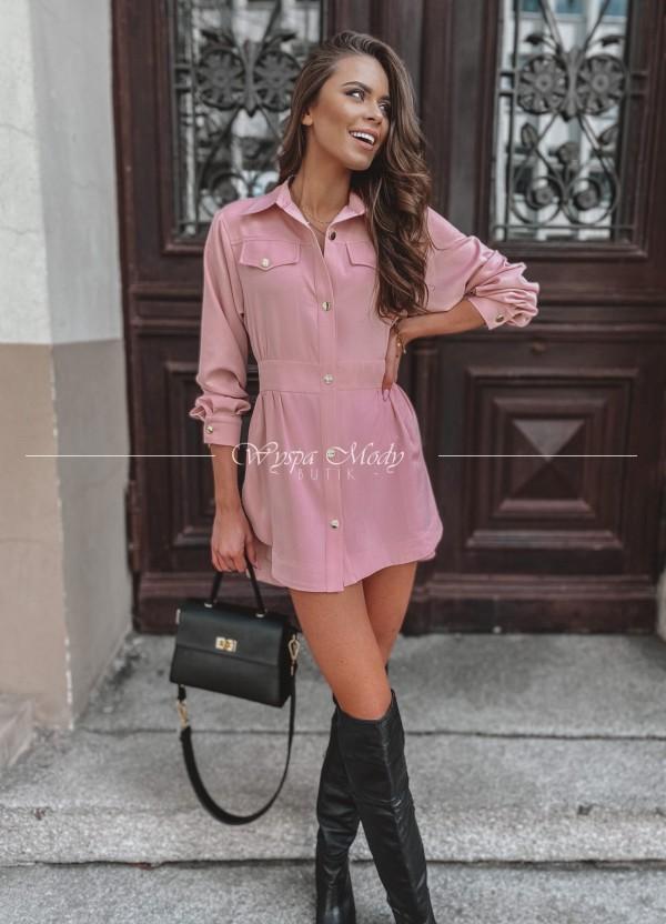 Sukienka Marrone Pink