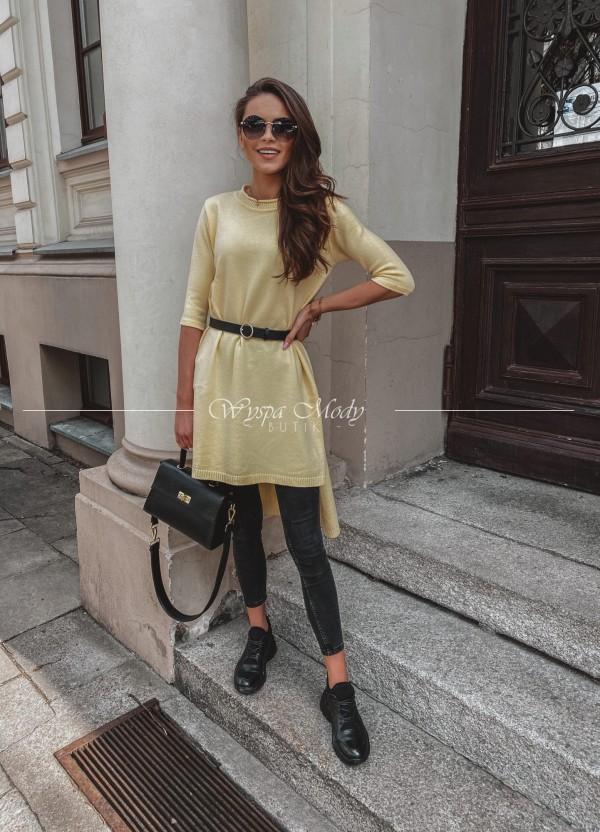 Sweterek Grigio Yellow