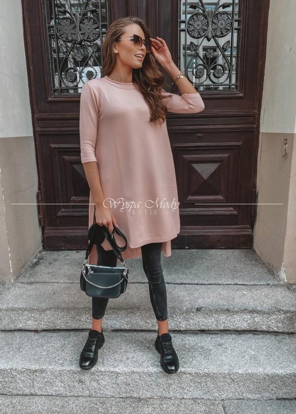 Sweterek Grigio Dirty Pink