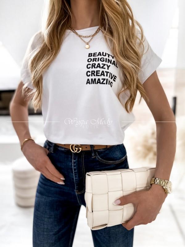 T-shirt Creative White