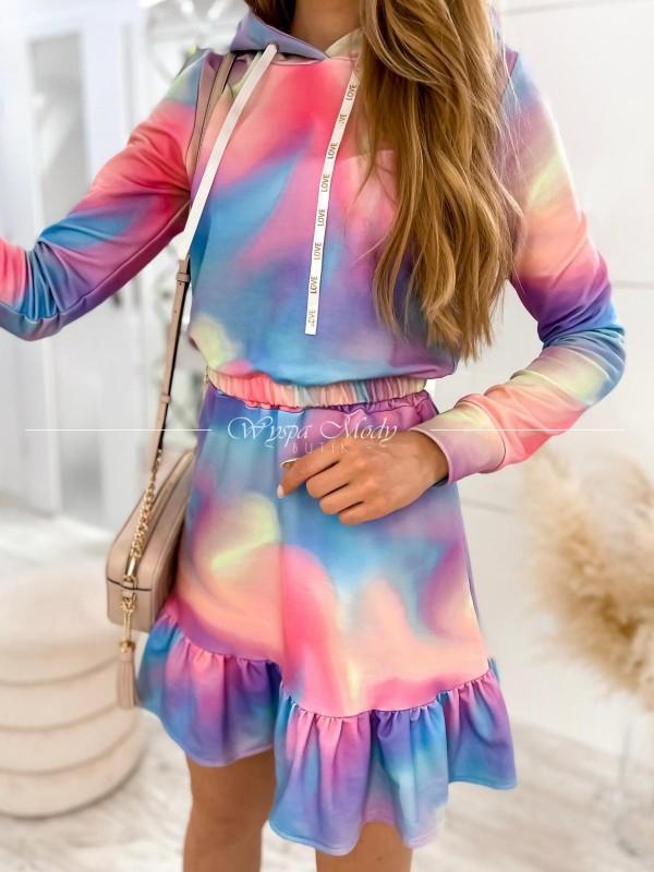 Komplet Mera bluza + spódniczka