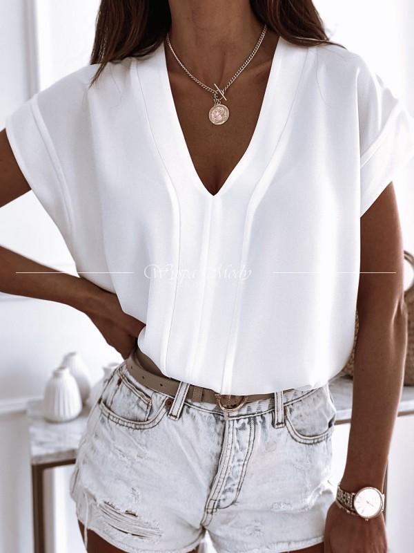 Koszula/ Bluzka venezia white ( czas realizacji zamówienia do 10 dni roboczych)