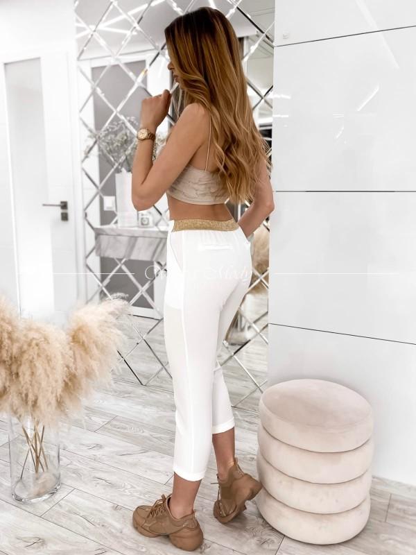 Spodnie Toronto white ( czas realizacji do 10 dni roboczych )