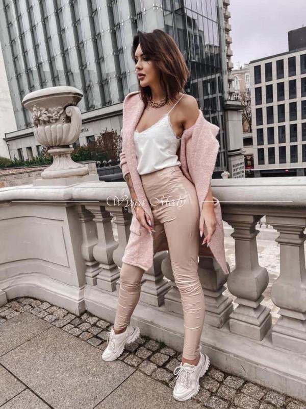 Kardigan włoska przedza Pink