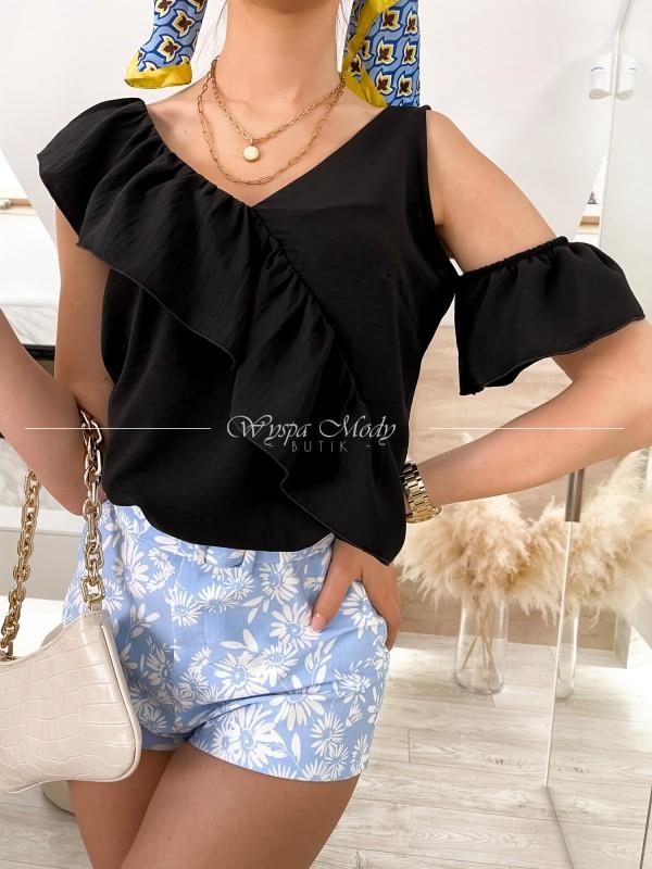 bluzka Malaquita black