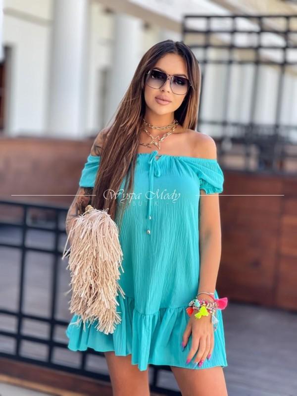 Sukienka Bora bora turkus