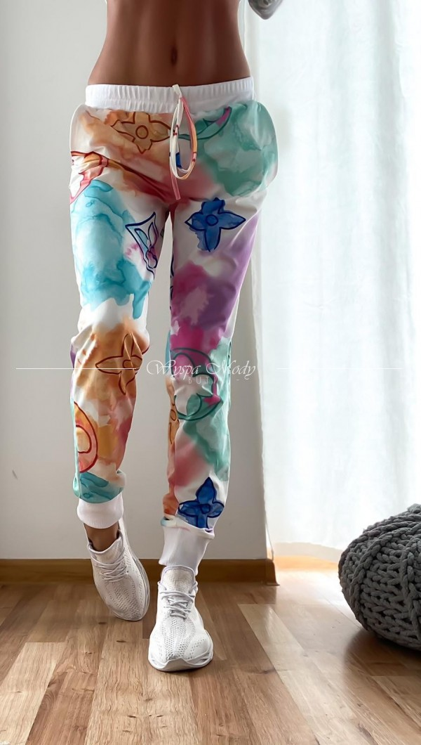 Spodnie Laki multicolor