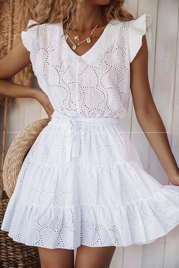 sukienka Floriana White