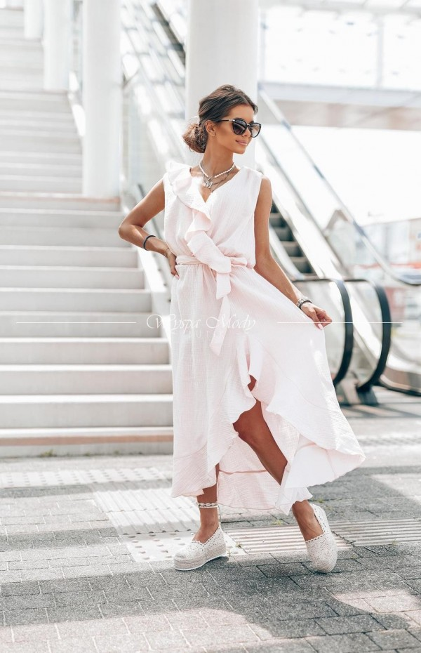 sukienka malibu pink