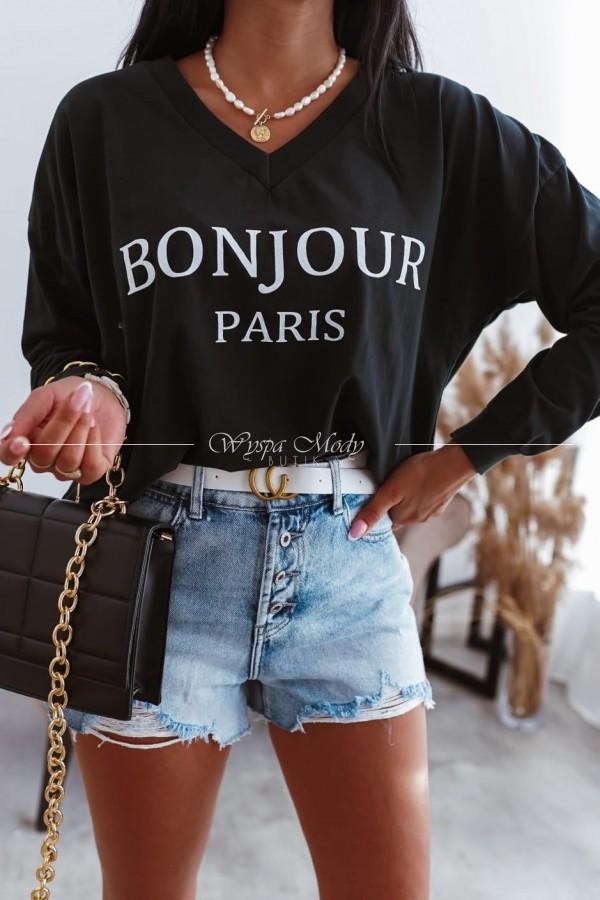 bluza bonjour black
