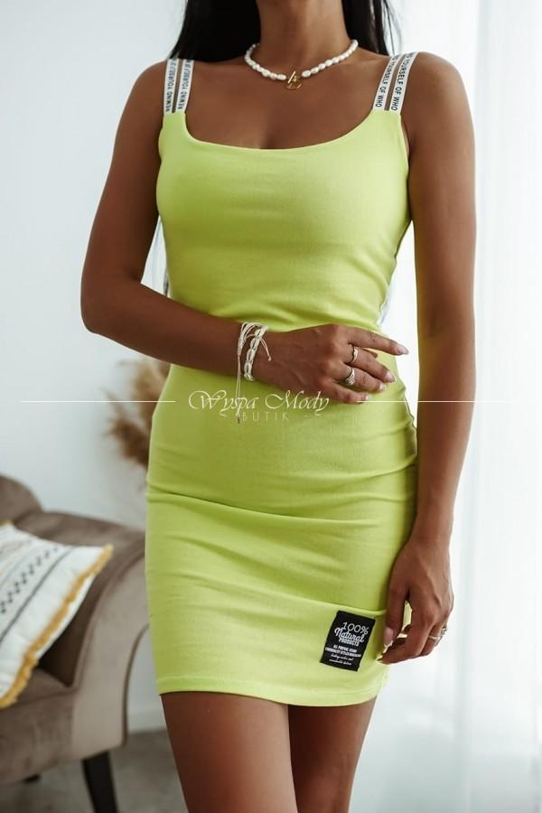 Sukienka Jeri Lime