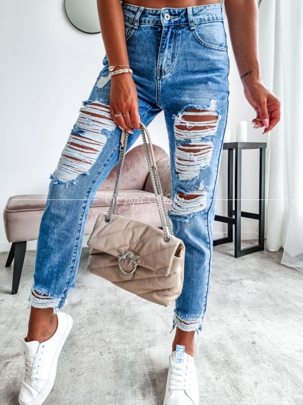 Spodnie jeans Sandy