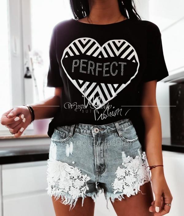 T-shirt perfect black