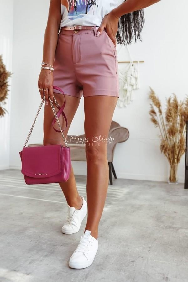 Spodenki Cork dirty pink