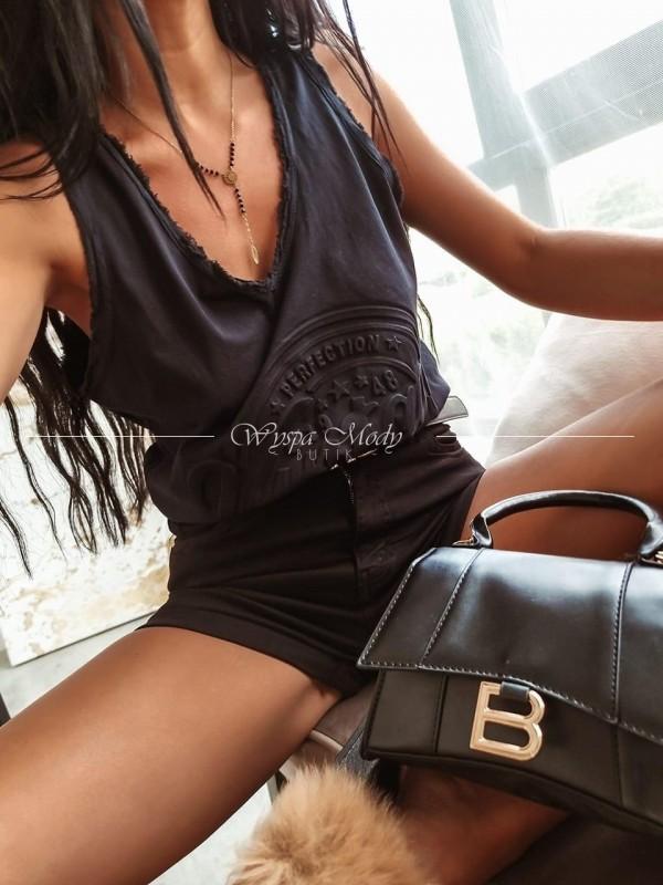 Top vintage black