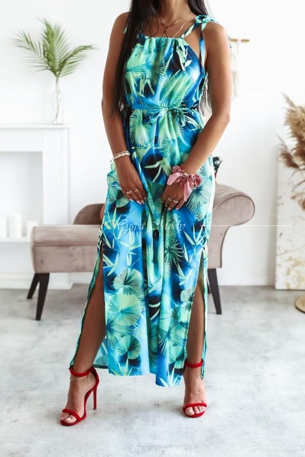 Sukienka maxi Green malediwy