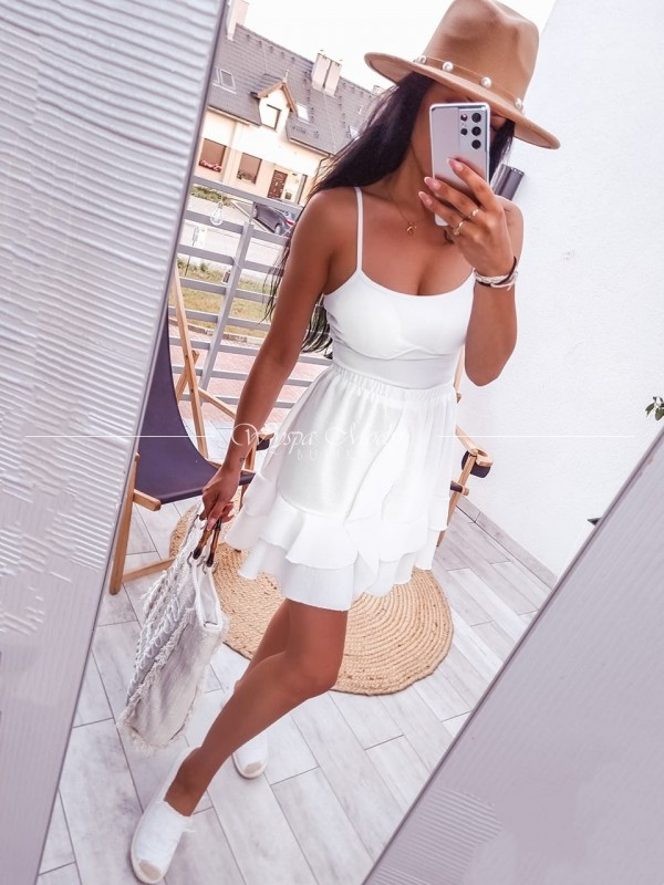 spódniczka Selena white