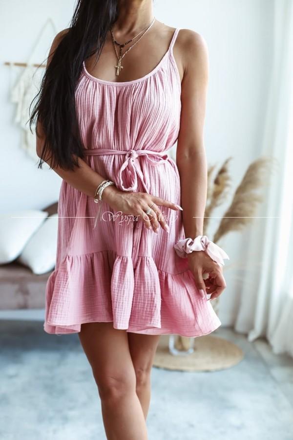 Sukienka muślin Pink