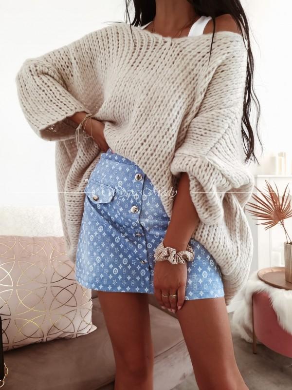Sweter oversize Beige