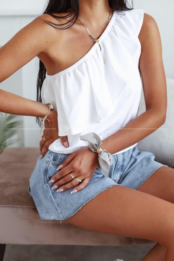 Bluzeczka Lena white