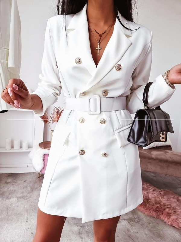 Sukienka Marynarkowa Sara white