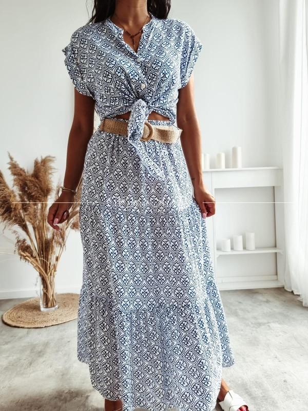 spódnica summer blue