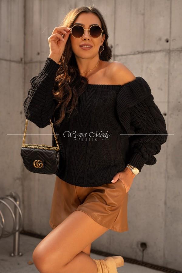 Sweterek Camilla black