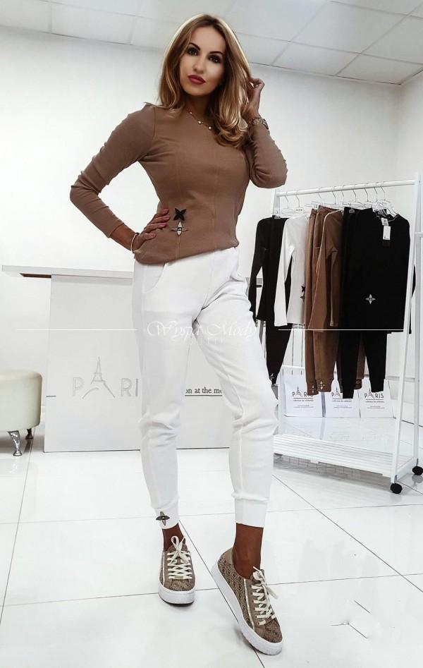 Spodnie Spilit white