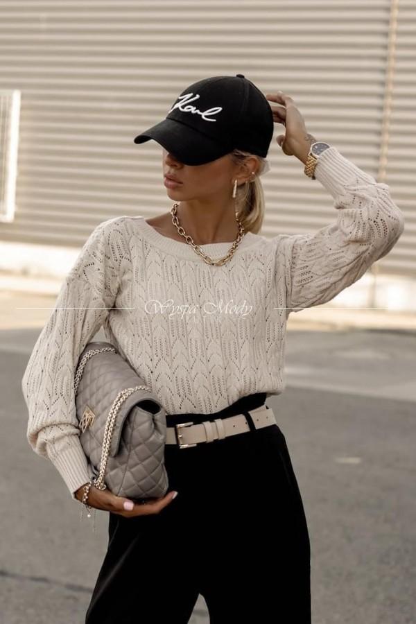 Sweterek Madera Beige