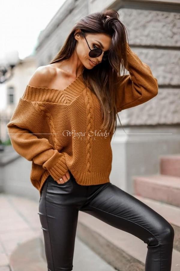 Sweterek Colombo brown