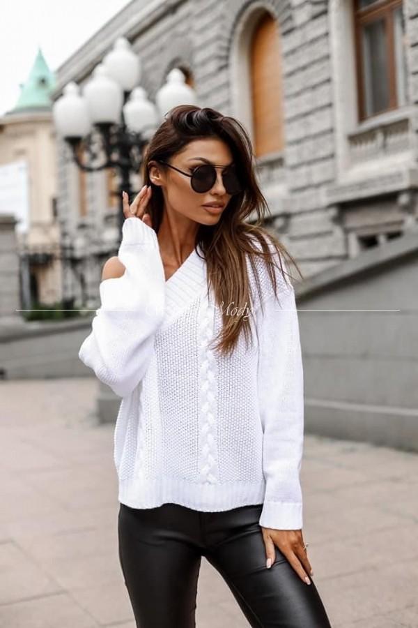 Sweterek Colombo white