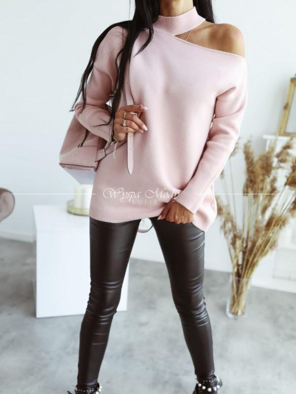 Sweter hoker Pink