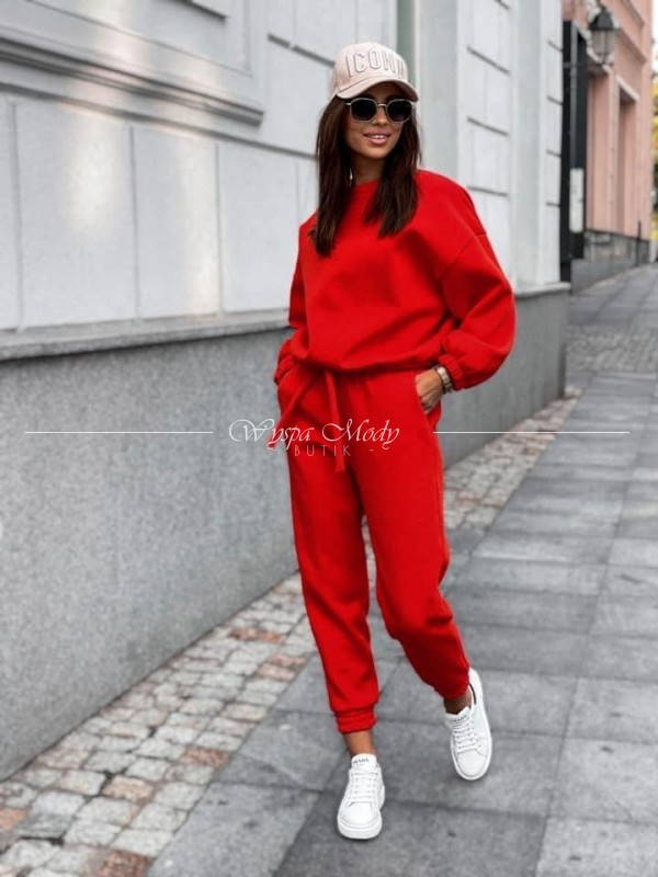 Komplet dresowy red ME&you