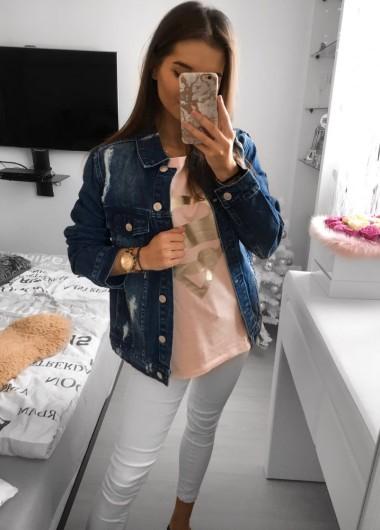 Katana jeansowa fashion