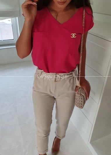 Koszula Chanel Fuksja