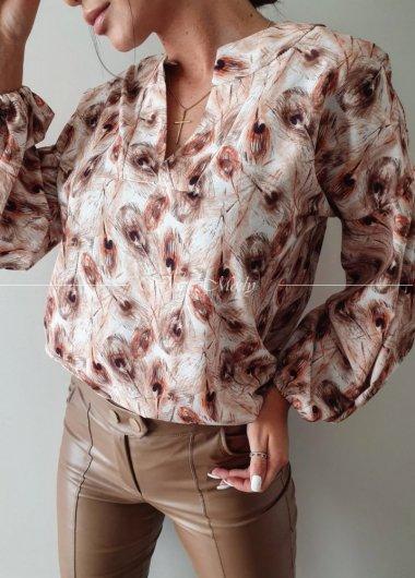 Koszula La Rose pióra