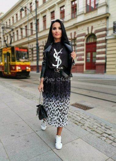 T shirt YSL BLACK