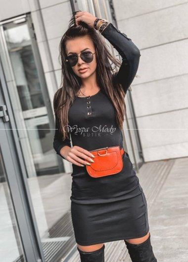 Sukienka prążek black