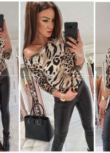 Bluzeczka pantera Women