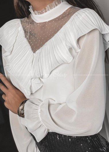 Koszula koronka white